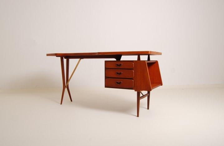 webe teak desk dutch design fifties jaren 50 1. webe teak desk dutch design fifties jaren 50 1