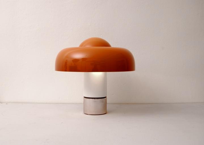 Guzzini Harvey Harveiluce Brumbury Space Age Mushroom