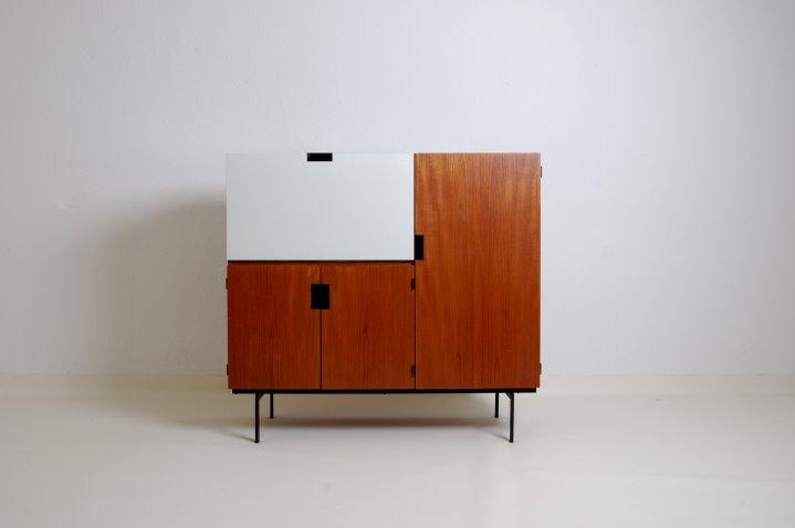 teak cabinet japanese series japanse serie writing desk dutch design 1